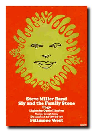 The Steve Miller Band, Sly & the Family Stone and Pogo