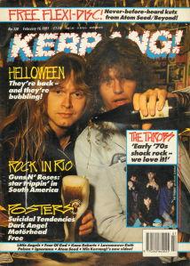 Kerrang! No 344 June 8 1991 - Winger, Macc Lads, Limbo Maniacs
